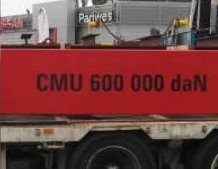 Support de charge capacité 600 T