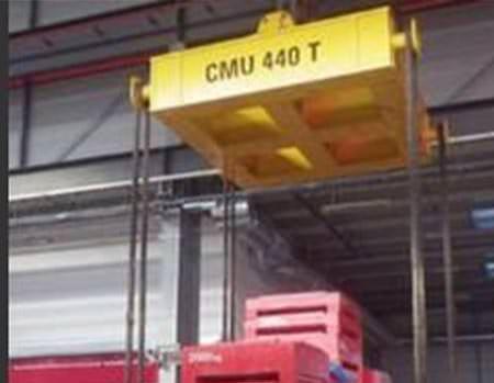 Support de charges CMU 440 tonnes