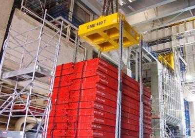 Réception d'un pont salle des machines CMU 270 Tonnes - Essai en charges 410 Tonnes - CNPE GOLFECH