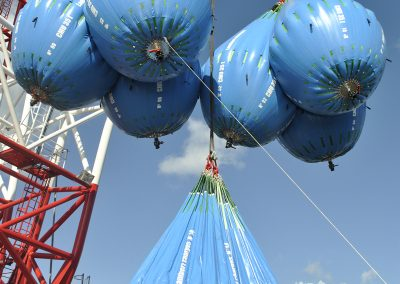 Essai dynamique sur treuil 240 tonnes